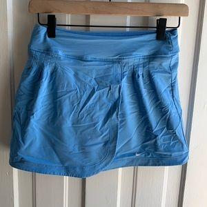 Nike Athletic Tennis Skirt Blue Coast